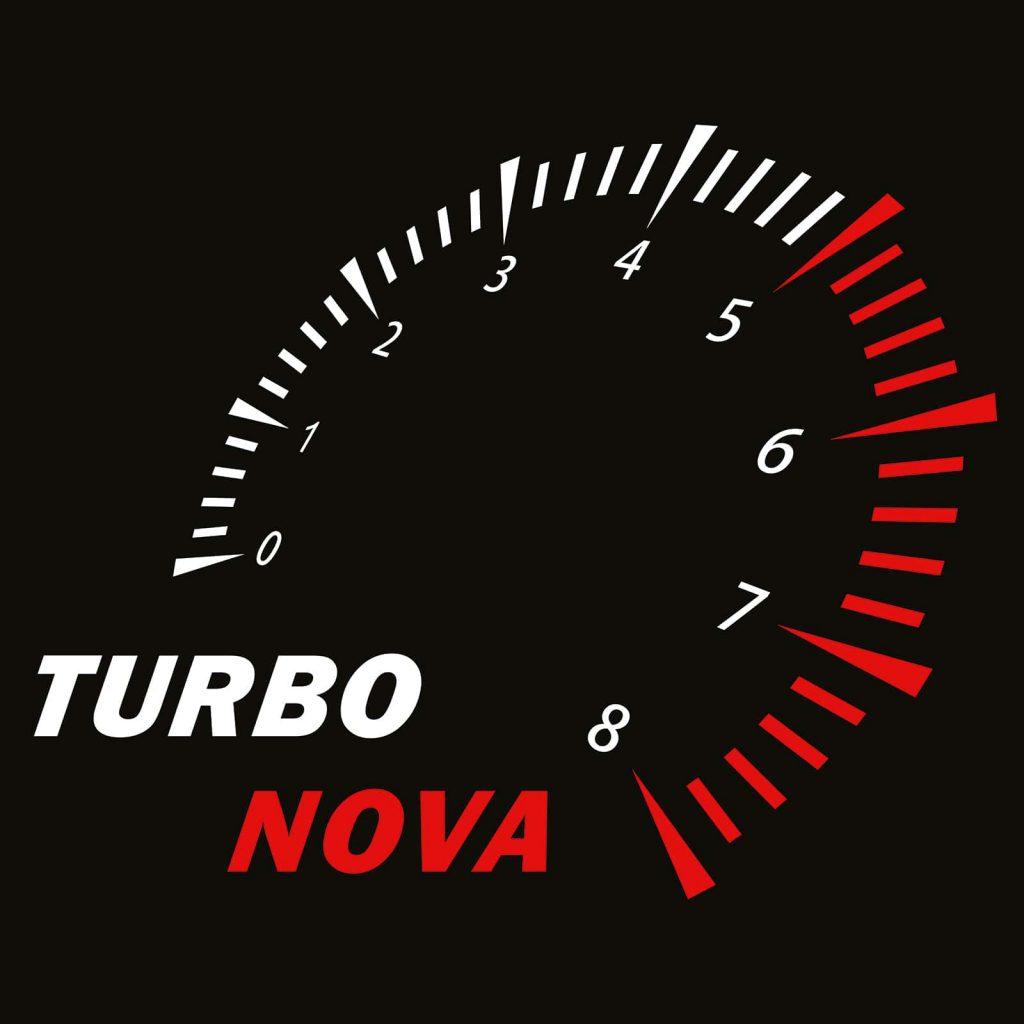 логотип Турбонова черный