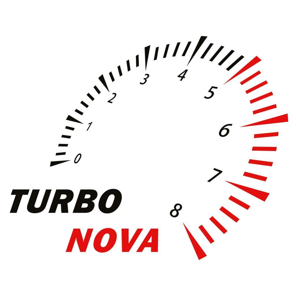 логотип Турбонова белый