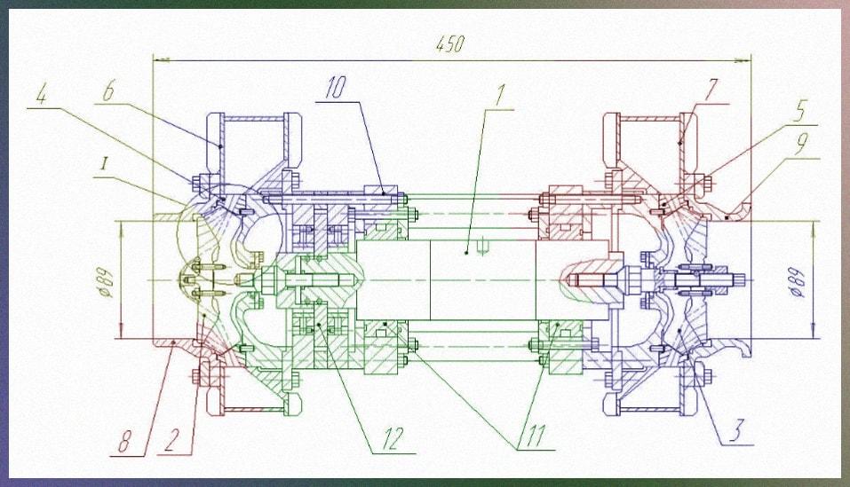 Модернизированный турбокомпрессор