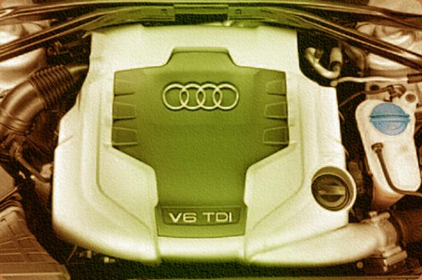 Двигатель Audi 3,0л-V6-TDI с Ultra Low Emission System