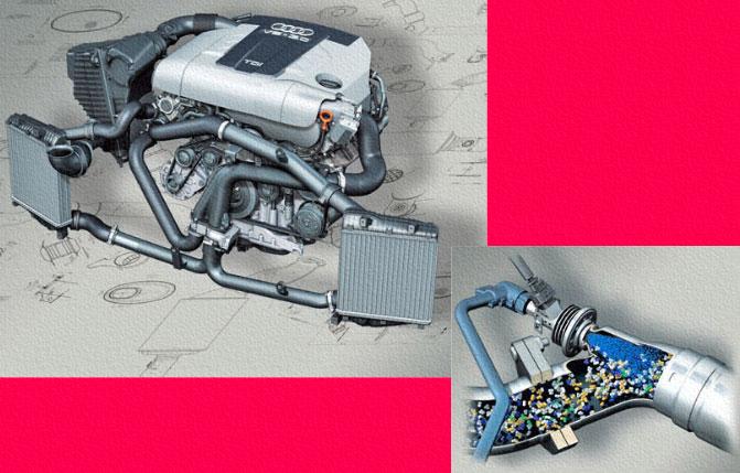 Audi 3,0л-V6-TDI с Ultra Low Emission System