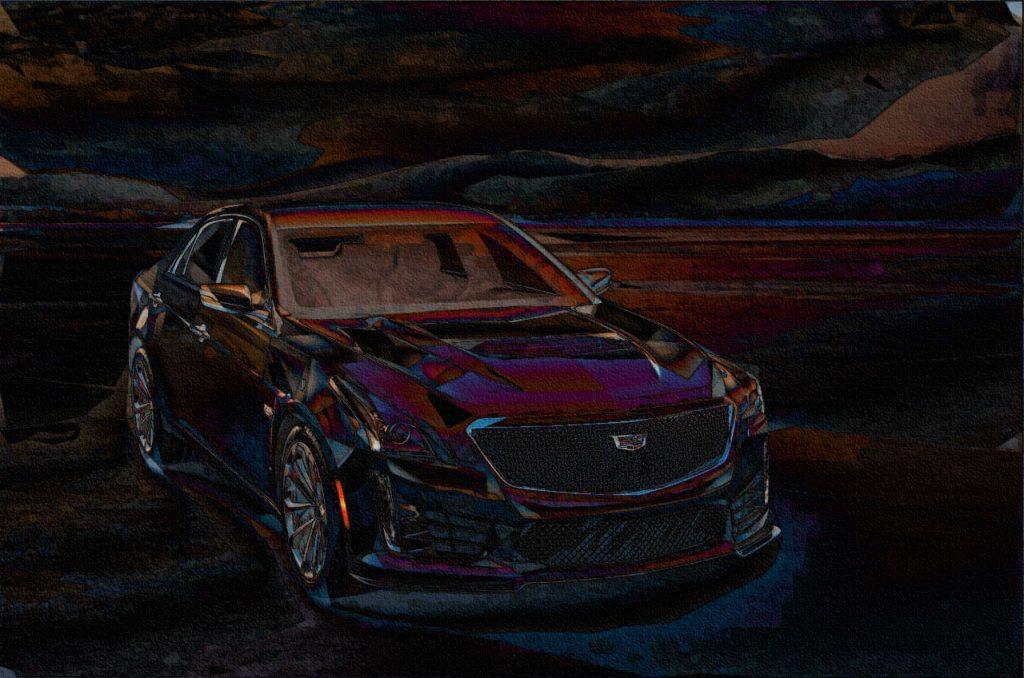Cadillac ATS-V Twin Turbo