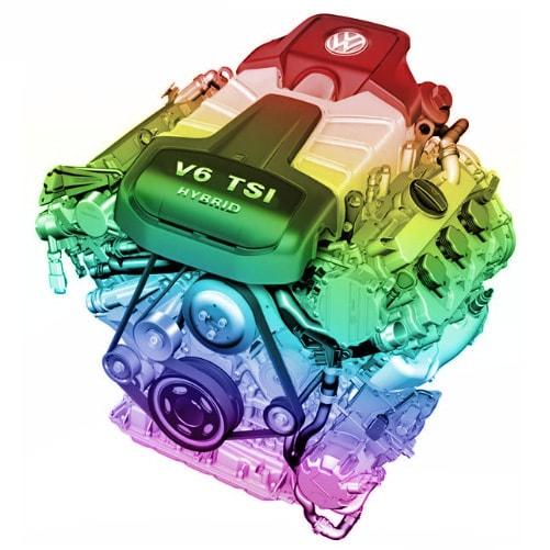 V6 TSI Hybrid