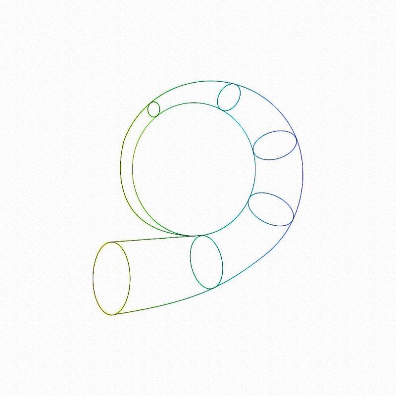 Геометрия турбины