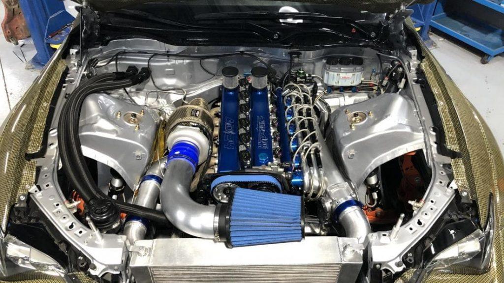 Lexus RC F турбиной Garrett