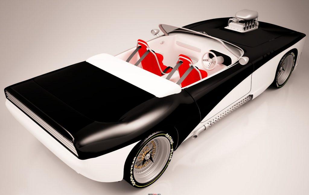 Американская машина с турбиной