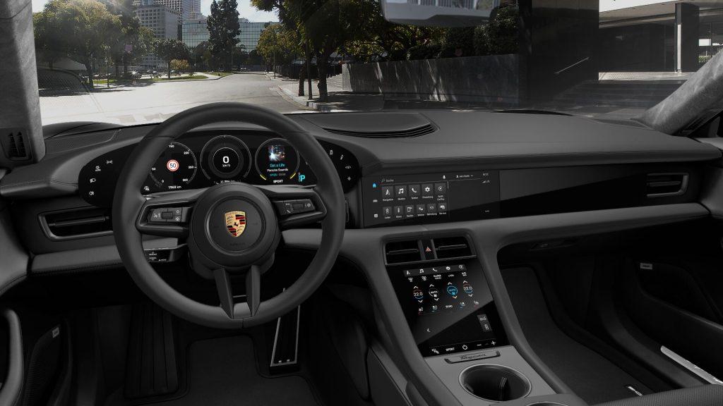 Porsche Taycan Turbo интерьер