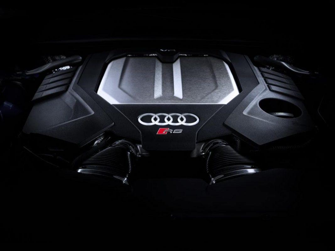 Мотор Ауди