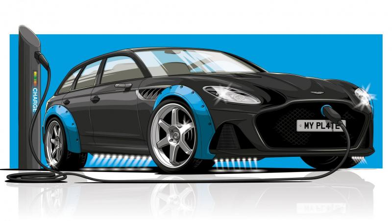 Апгрейд Aston Martin с гибридной Audi RS6