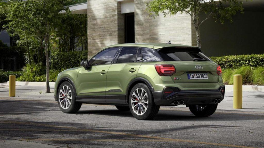 Новый Audi SQ2 с турбонаддувом