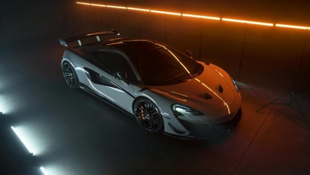 Апгрейд McLaren от Novitec