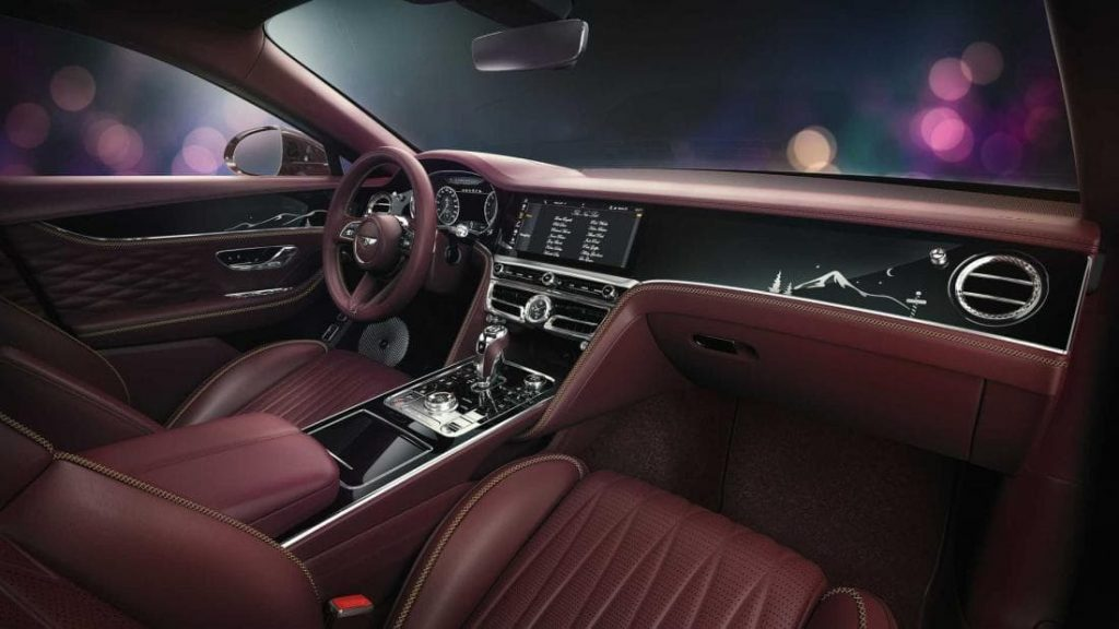 Bentley для Санта-Клауса