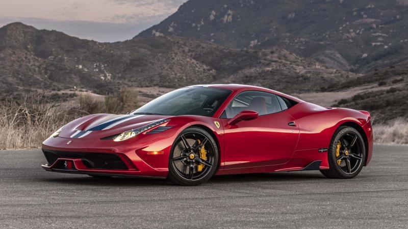 Бронированный апгрейд Ferrari 458 Speciale
