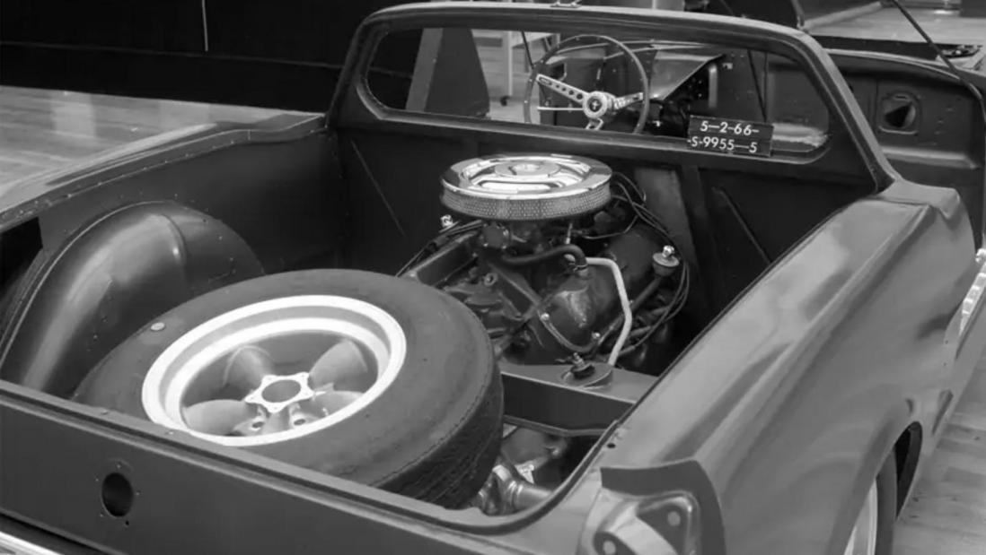 Среднемоторный Форд Мустанг