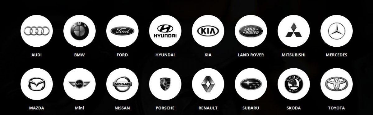 Логотипы турбированных машин