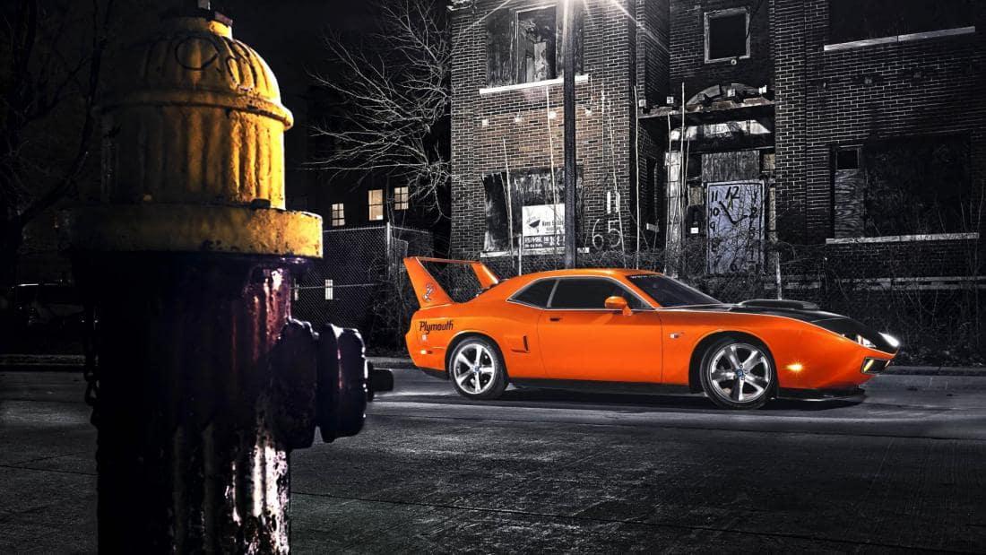 Мускулистый авто с нагнетателем из Детройта